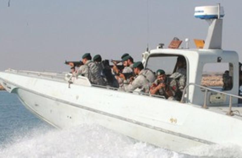 Iranian Velayat-90 wargames near Hormuz_311 (photo credit: Reuters)