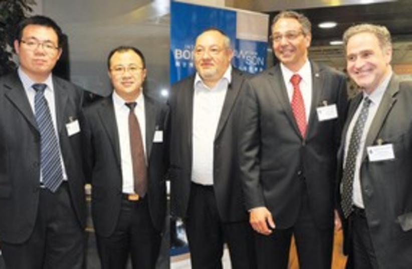 Israeli companies target China_311 (photo credit: Courtesy)