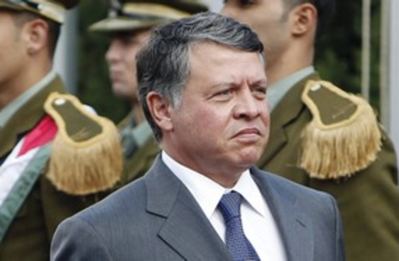 King Abdullah of Jordan 311 (photo credit: REUTERS)