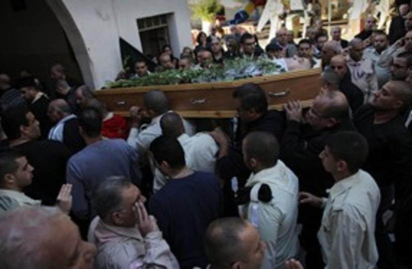 Gabriel Cadis funeral in Jaffa 311 (photo credit: Tamir Kalifa)