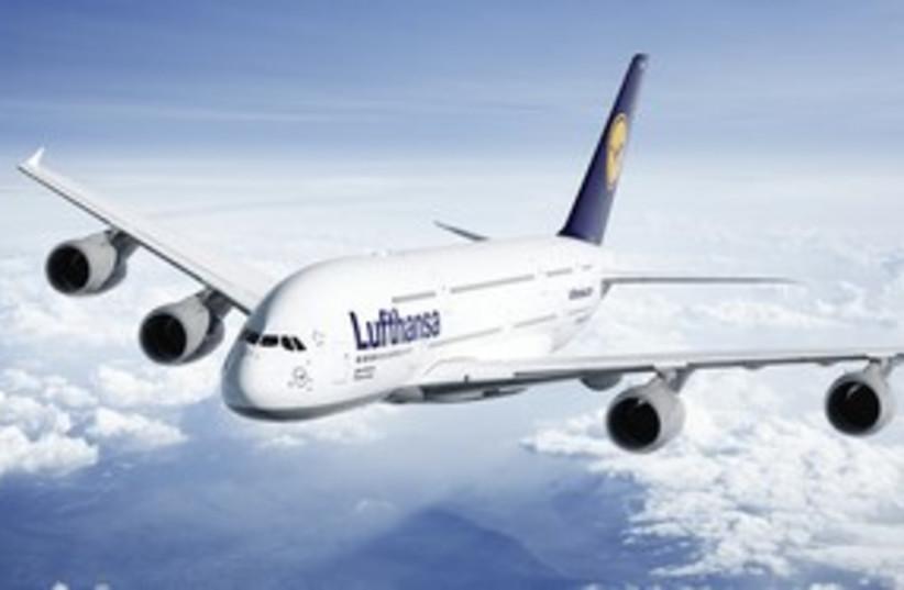 Lufthansa airplane 311 (photo credit: Courtesy of Lufthansa)