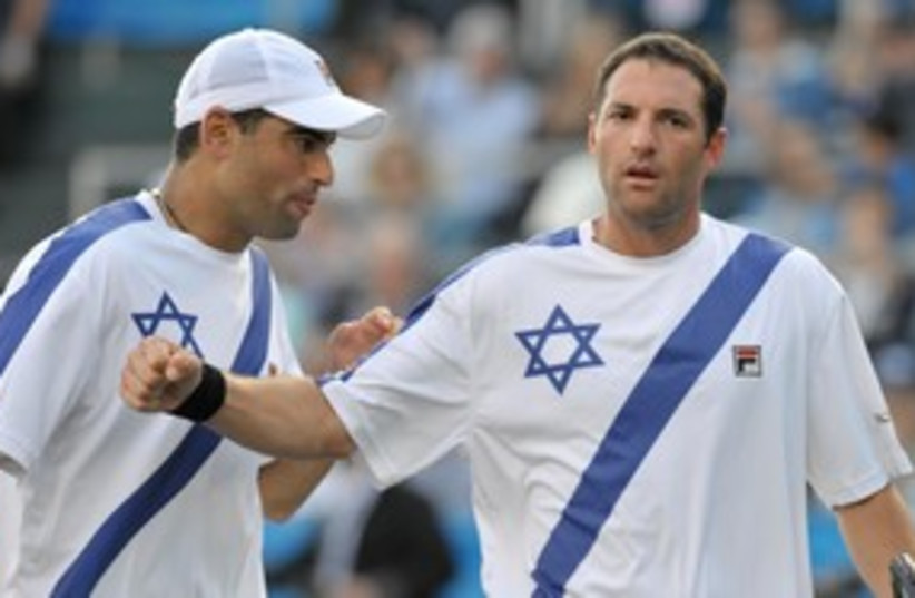 Andy Ram and Yoni Erlich R 311 (photo credit: REUTERS )