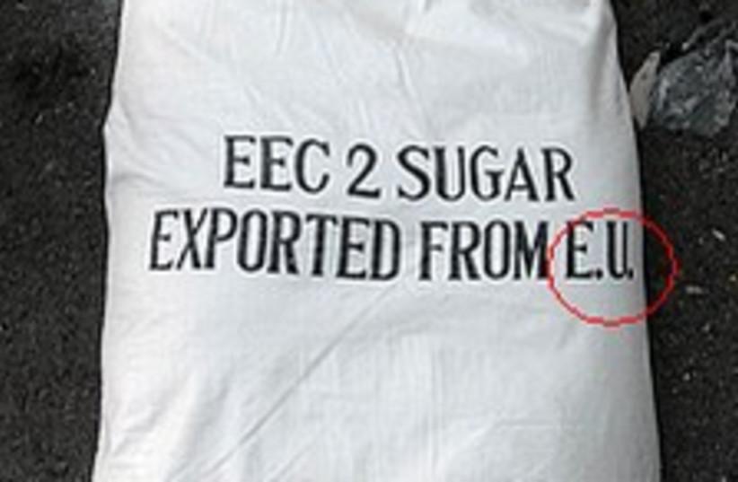 sugar bag 224.88 (photo credit: IDF)