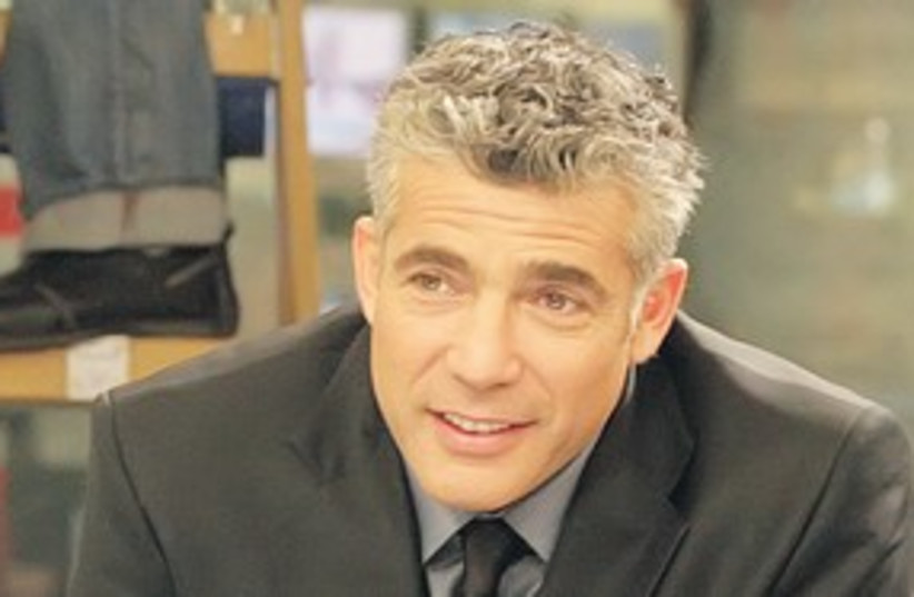 Yair Lapid 311 (photo credit: Courtesy)