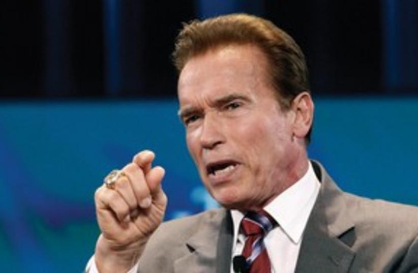 Former California Gov. Arnold Schwarzenegger 311 (R) (photo credit: REUTERS)