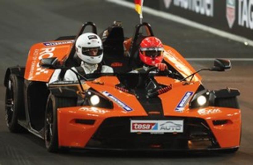 Formula One car 311 (photo credit: REUTERS)