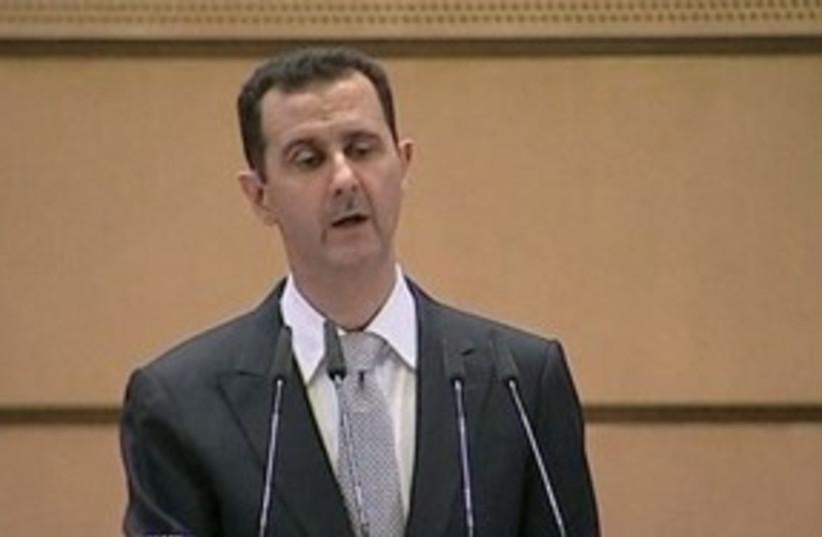 Bashar Assad 311  (photo credit: Oded ben Josef)