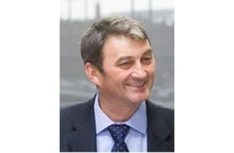 Hungarian minister Prof. Zoltán Cséfalvay 311 (photo credit: Courtesy)