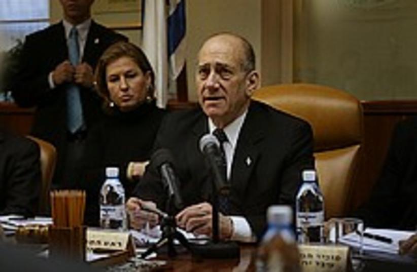 olmert cabinet 224.88 (photo credit: )