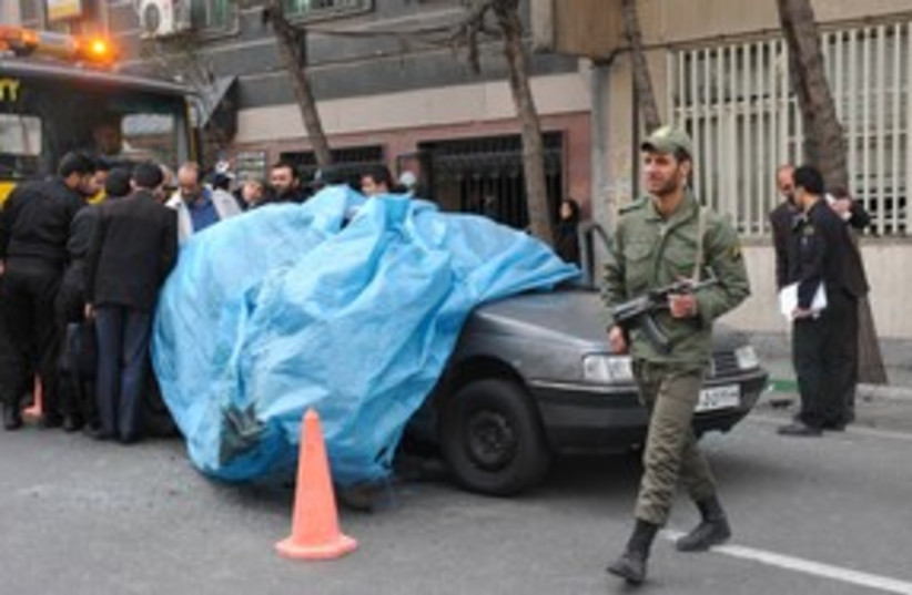 Iranian nuclear scientist assassination 311 (photo credit: REUTERS)