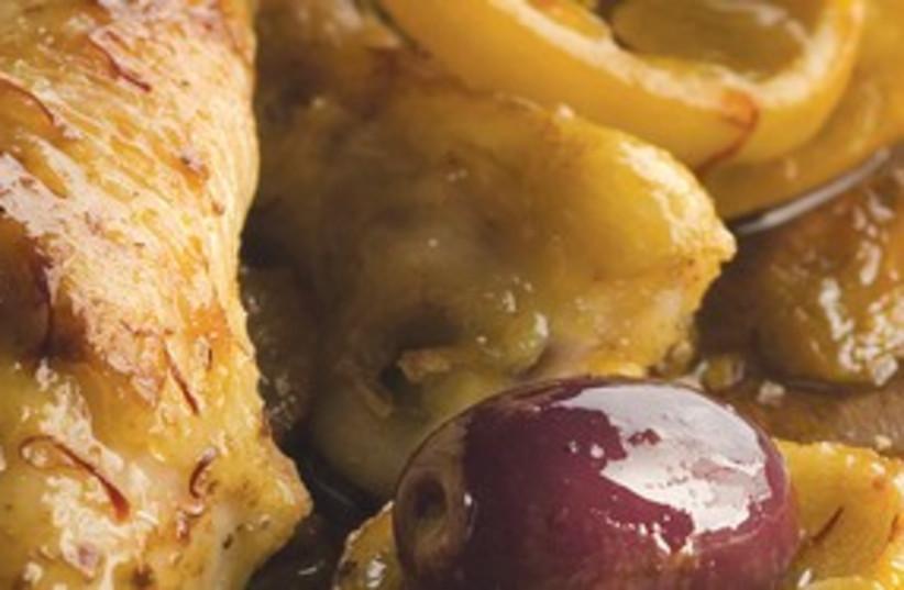 Moroccan Chicken (photo credit: Courtesy)