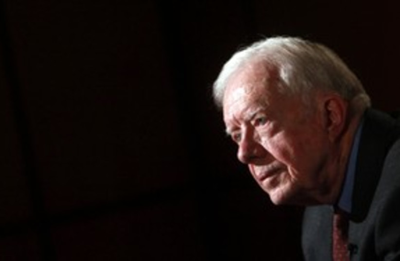 Jimmy Carter in Egypt_311 (photo credit: Reuters)
