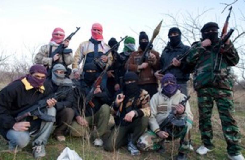Syrian army defectors 311 (photo credit: REUTERS)