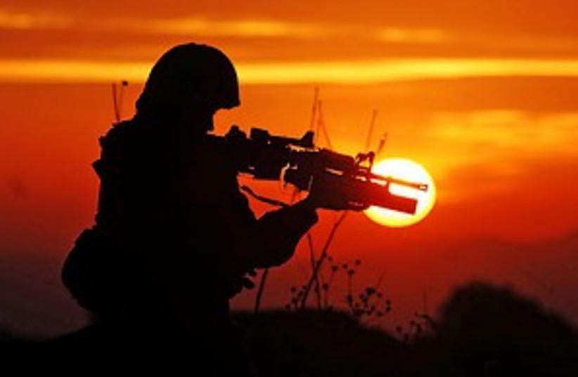 idf soldier stunning 298 (photo credit: IDF)
