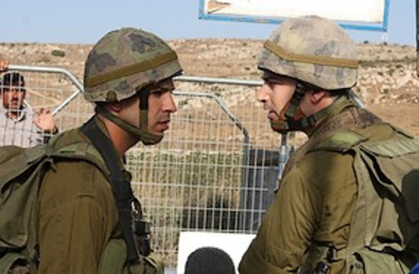 A scene from Barriers 311 (photo credit: Ma'aleh)