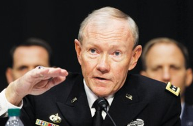 US Joint Chiefs of Staff Gen. Martin Dempsey_311 (photo credit: Kevin Lamarque/Reuters)