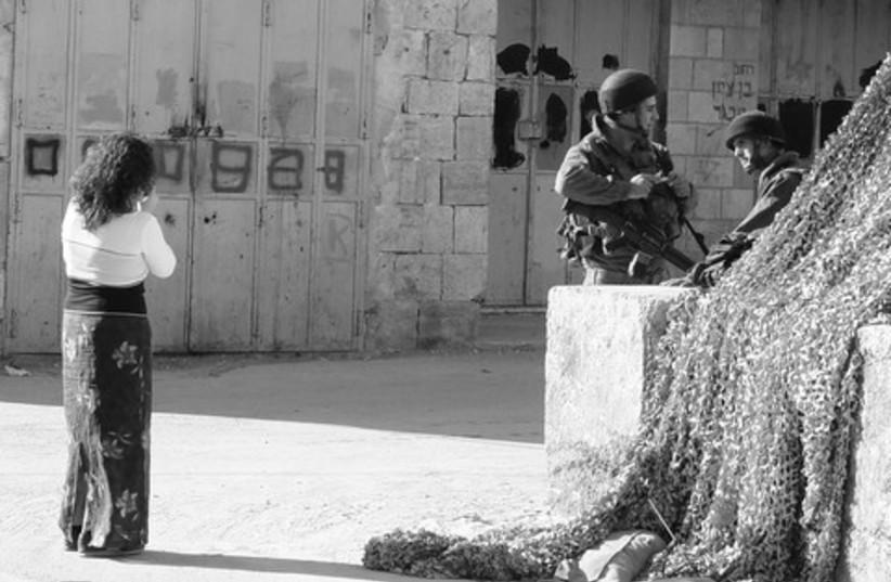 checkpoint jerusalem 521 (photo credit: Seth J Frantzman)