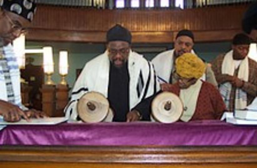 obama black rabbi 224.88 (photo credit: Courtesy)