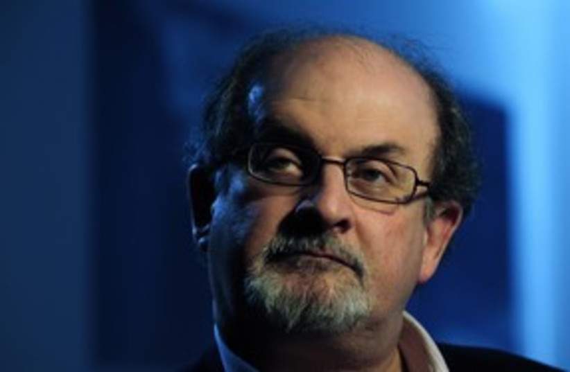 Salman Rushdie 311 (photo credit: REUTERS)