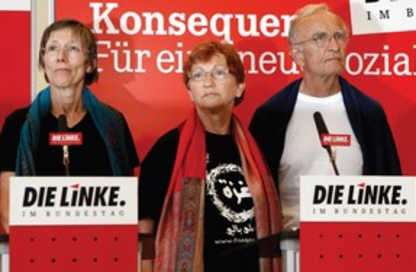 Germany Left Party leaders 311 R (photo credit: Fabrizio Bensch/Reuters)