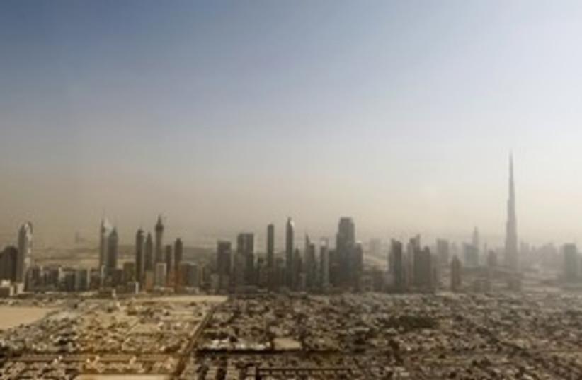 Dubai Skyline 311 (photo credit: REUTERS/Jumana El-Heloueh)
