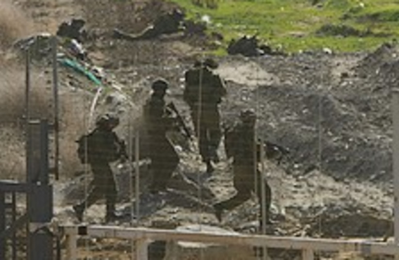 IDF gaza fence 224.88 (photo credit: AP [file])