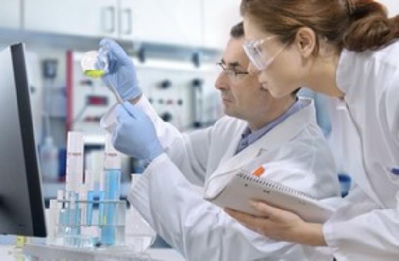 DNA laboratory 311 (photo credit: iStockphoto)