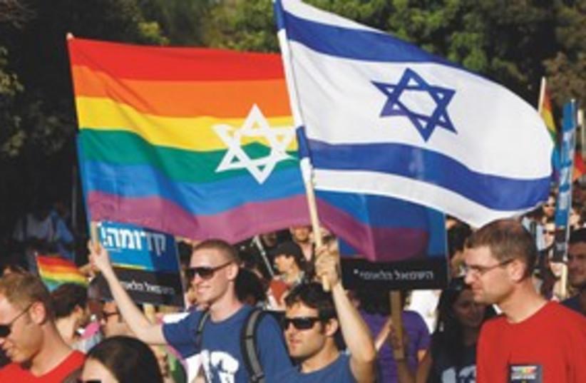 Gay pride in Israel (Jerusalem) 311 (photo credit: REUTERS)