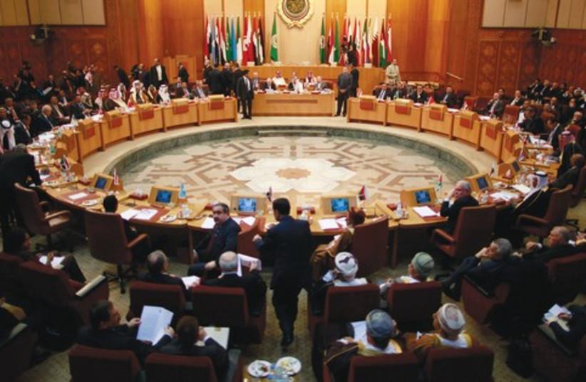Arab League headquarters in Cairo 521 (photo credit: REUTERS)