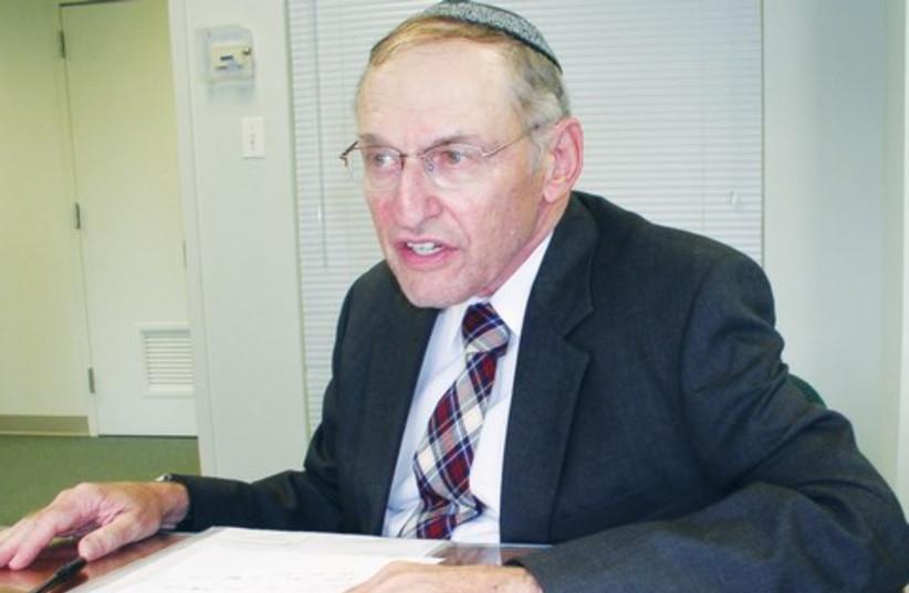 Rabbi Aron Rakeffet-Rothkoff 521 (photo credit: Courtesy/OU Productions)