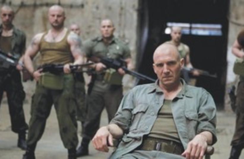 Ralph Fiennes in 'Coriolanus' (photo credit: Courtesy)