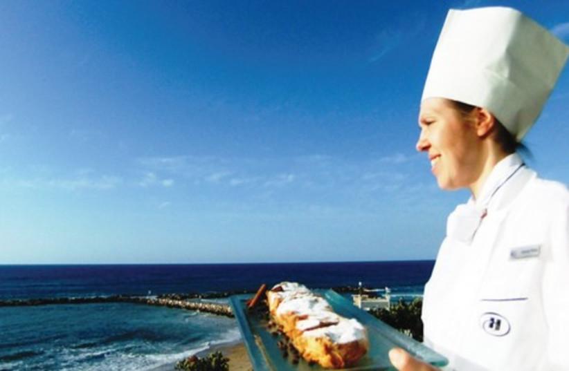 Chef Karina Rijaz at Hilton TA 521 (photo credit: Courtesy)