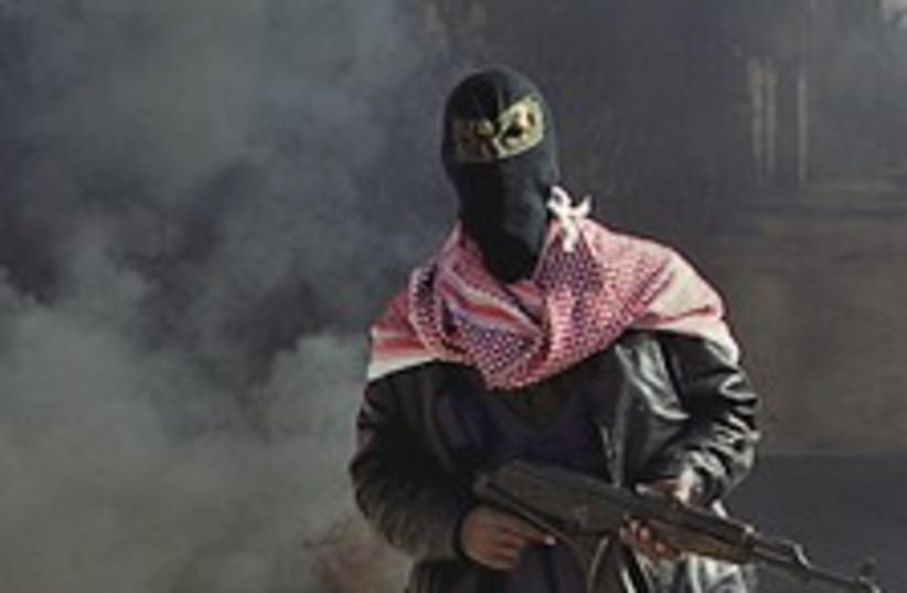 Gaza gunman fire 224.88 (photo credit: AP)