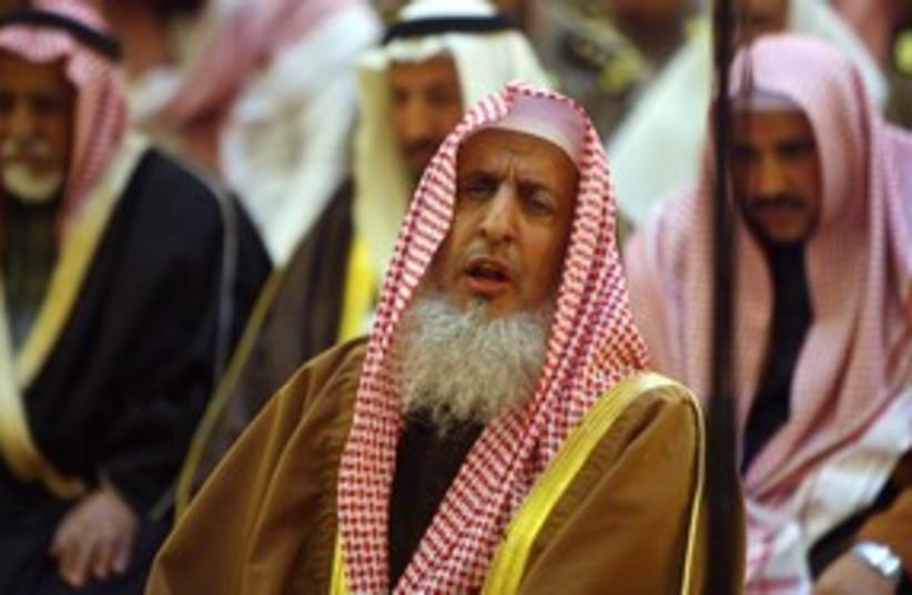 Saudi Grand Mufti Abdel Aziz Al Sheikh_311 (photo credit: Reuters)