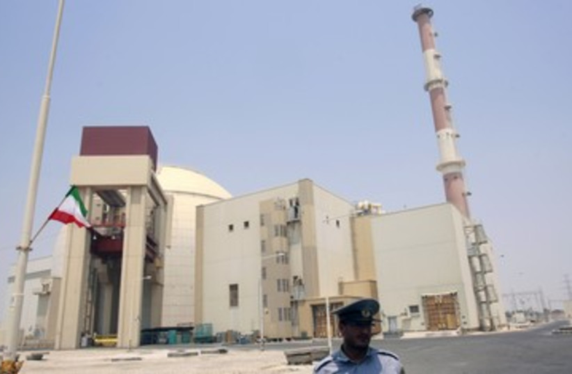 Iran's Bushehr nuclear reactor_150 (photo credit: Reuters)