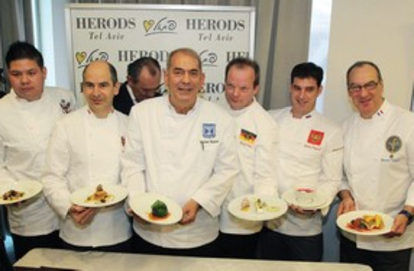 Chefs for Peace 311 (photo credit: Yoni Reif)