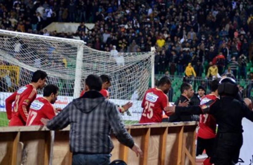 Egypt Soccer Violence 390 (photo credit: REUTERS)