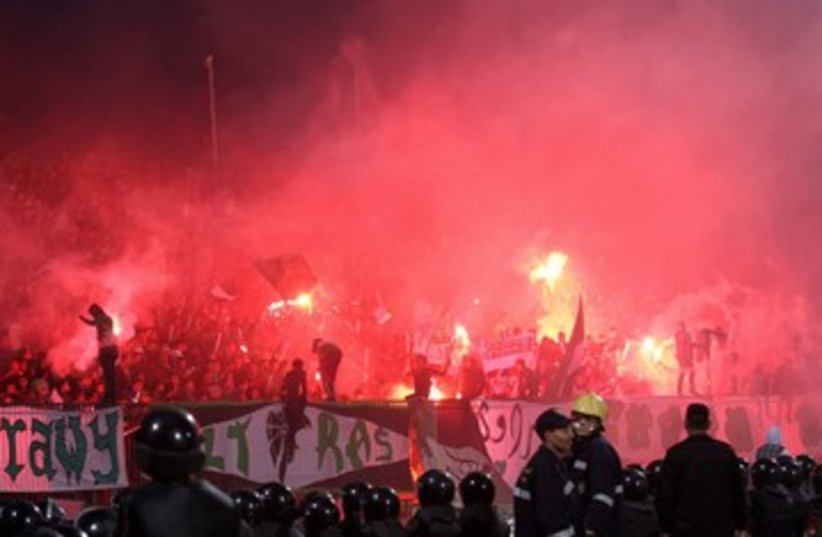 Egypt Soccer Violence 390 4 (photo credit: REUTERS)