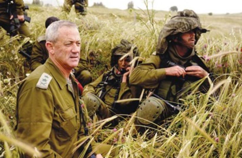 IDF Chief of Staff Benny Gantz_390 (photo credit: Ori Shifrin/IDF Spokesman)