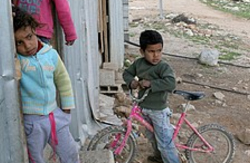 cute beduin 224.88 (photo credit: Ariel Jerozolimski )