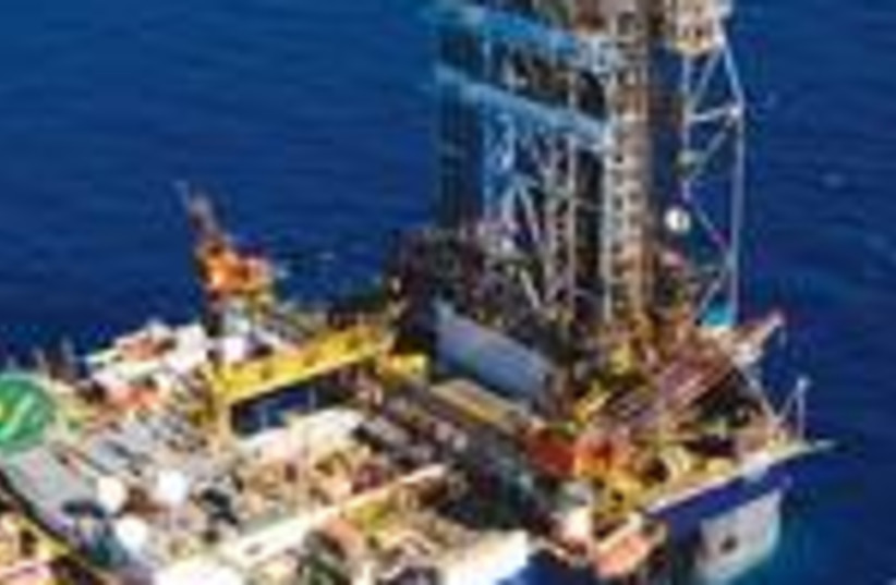 Leviathan natural gas drilling rig 150 (photo credit: Courtesy of Albatross)