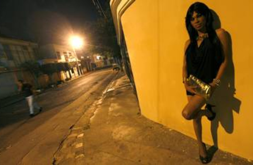 Prostitute hooker street walker 390 (R) (photo credit: Edgard Garrido / Reuters)