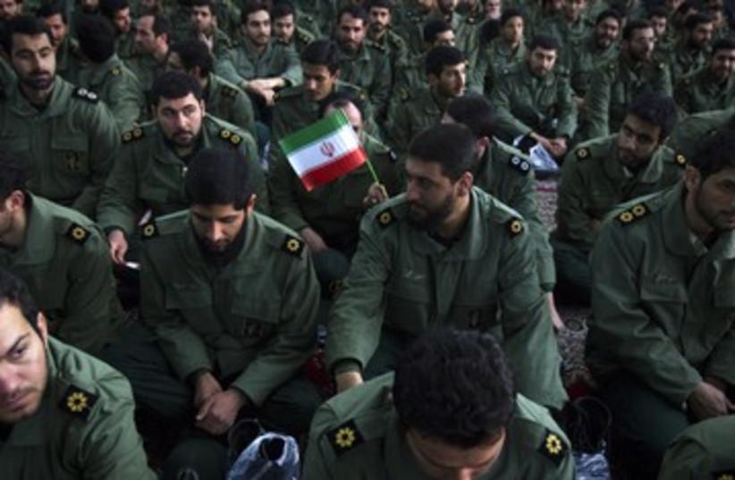 Iran revolutionary guards_390 (photo credit: Raheb Homavandi/Reuters)