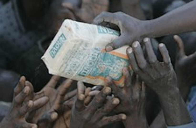 kenya very good 224.88ap (photo credit: AP)