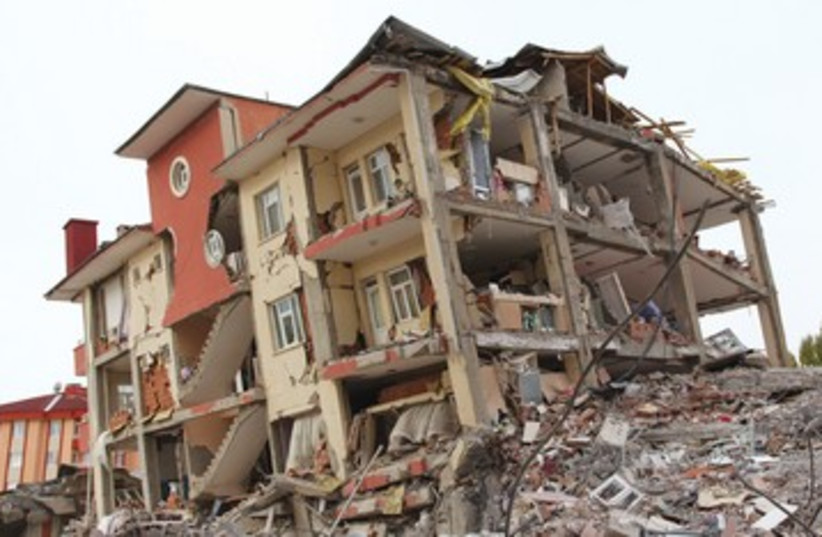Aftermath of earthquake [file] 390 (photo credit: Thinkstock)