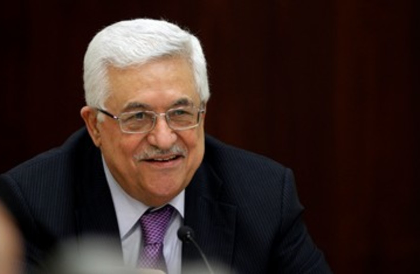 PA President Mahmoud Abbas 390 (R) (photo credit: REUTERS/Mohamad Torokman)