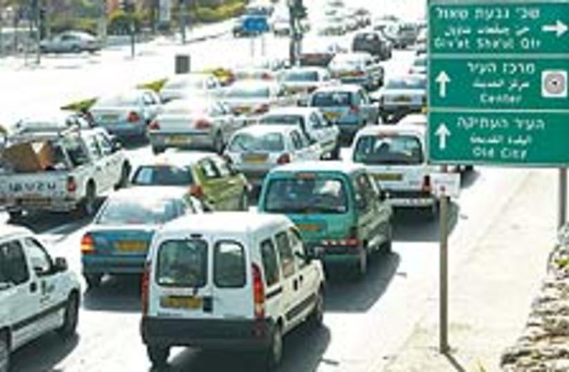 traffic bis 88 224 (photo credit: Ariel Jerozolimski)