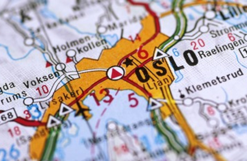 Norway map 390 (photo credit: Thinkstock)