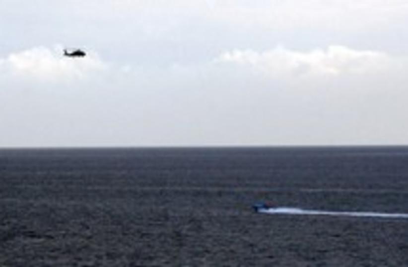 iranian boats harass 224 (photo credit: AP)