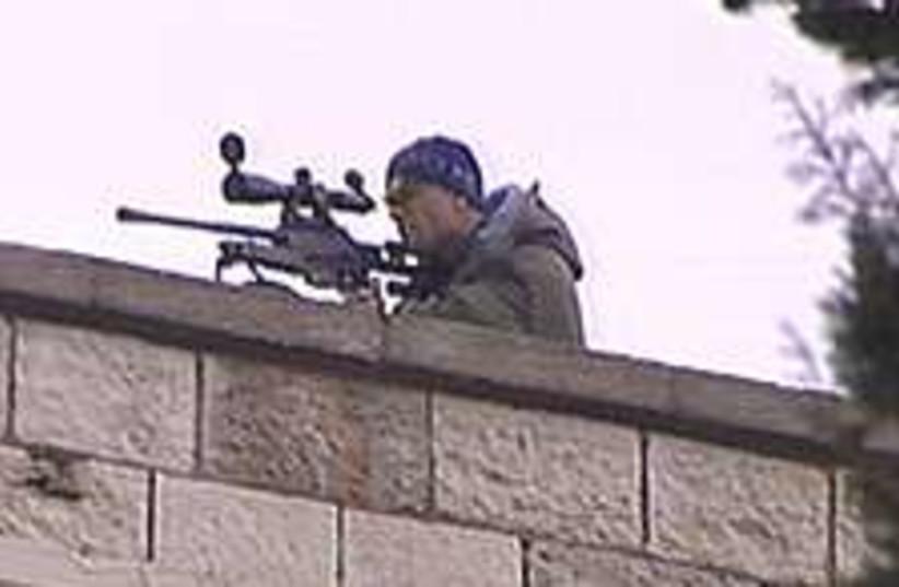 Sniper king david 224.88 (photo credit: Channel 2)
